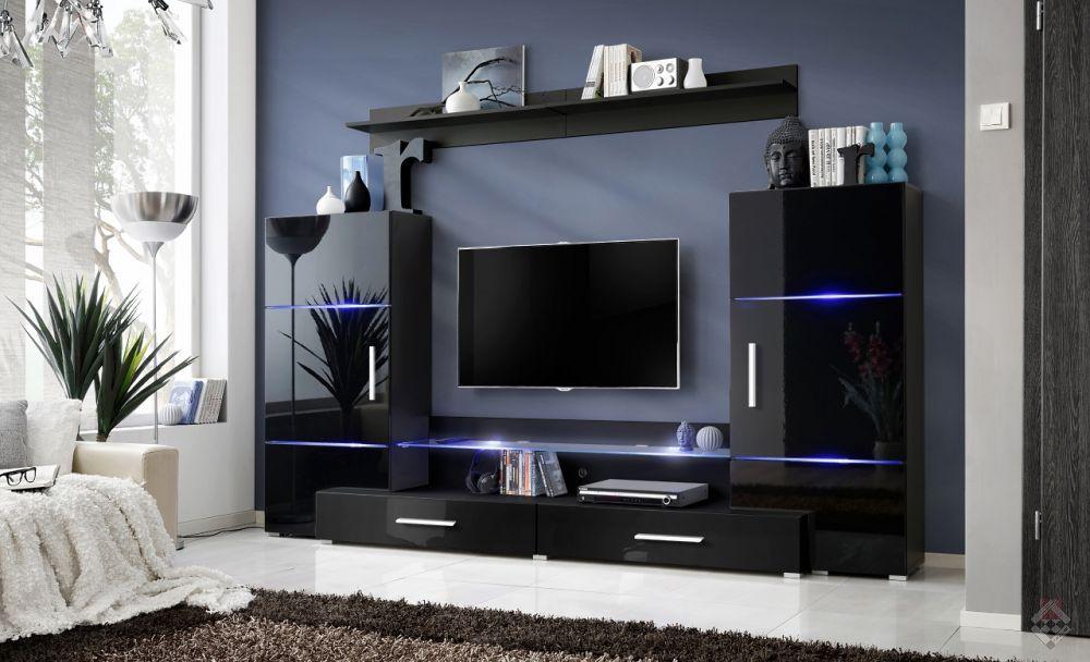 Twin meblo cianka wysoki po ysk z p ka for Solde meuble tv