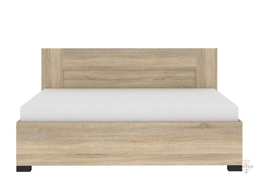 Inova łóżko Z Pojemnikiem Na Pościel Dąb Sonoma
